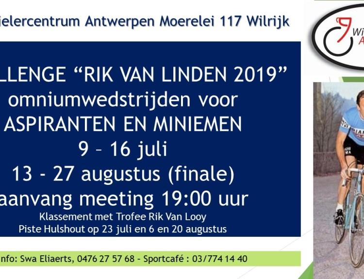 Challenge Rik Van Linden 2019